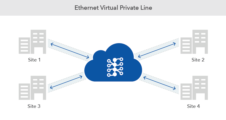 ethernet virtual private line diagram