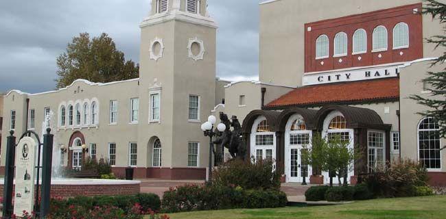 Where is ponca city oklahoma
